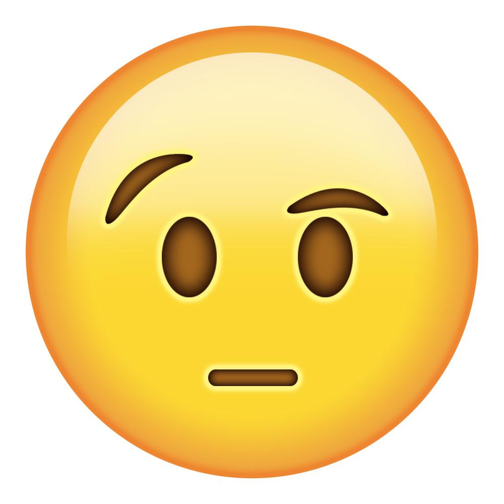 astonished face emoji emojipedia - 1000×1000